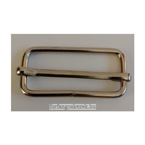 Csúszka táskához 3,8 cm, ezüst