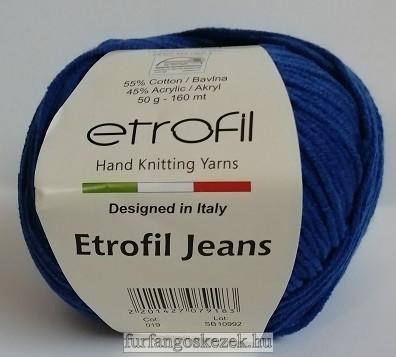 ETROFIL JEANS - éjkék