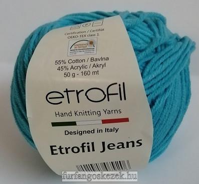 ETROFIL JEANS - kék