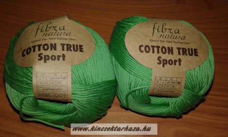 FIBRANATURA COTTON TRUE SPORT - zöld