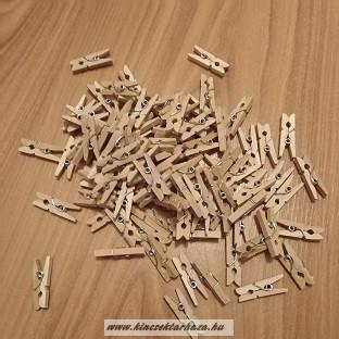 Fa natúr csipesz - 2,5 mm