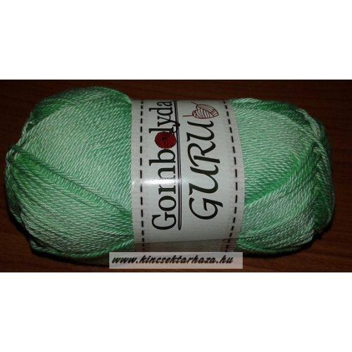 Guru -halvány zöld
