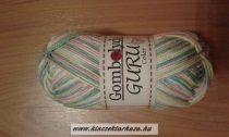 Guru Color - fehér - rózsaszín - zöld cirmos