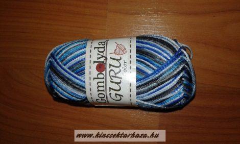 Guru Color - fehér - kék - szürke cirmos