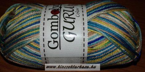 Guru Color - fehér - zöld - kék - barna