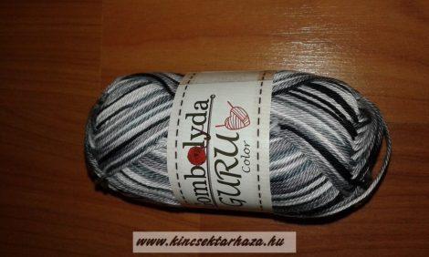 Guru Color - fehér - szürke - fekete cirmos