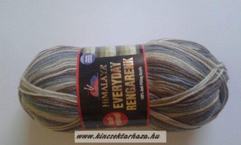 HiMALAYA EVERYDAY RENGARENK - kék - barna - drapp színátmenetes