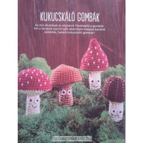 Kukucskáló gombák - Horgoló Klub 2020. 10. 01.