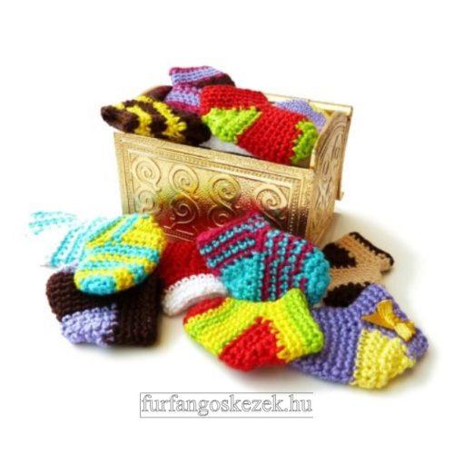 Horgolt mini zoknik ONLINE  - Horgoló Klub 2020. 12. 10.