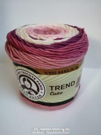 ÖREN BAYAN TRAND CAKE - vaj - rózsaszín - mályva színátmenetes