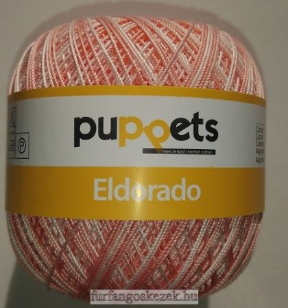 Puppets Eldorado - multicolor N10 - világos és közép barack