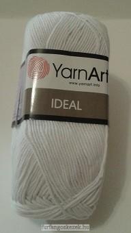 Yarn Art IDEAL - fehér