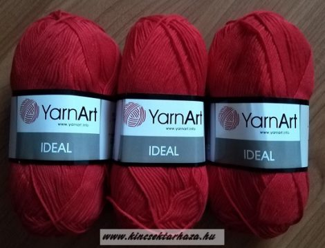 Yarn Art IDEAL - piros