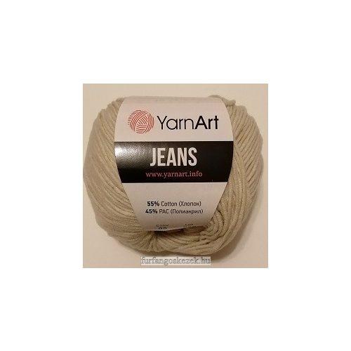 YarnArt Jeans - bézs