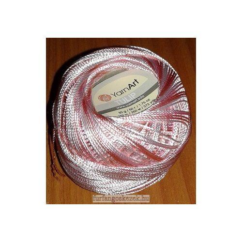 YarnArt Tulip horgoló cérna - rózsaszín színátmenetes