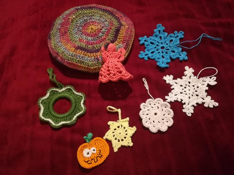 Karácsonyi dekorációk, párna